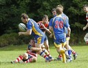 Marc Higgins and Neil Wiseman double up on tackle